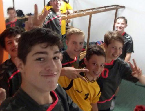 Männliche C-Jugend für die Landesliga qualifiziert!