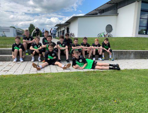 männliche D Jugend kämpft in Bruckmühl