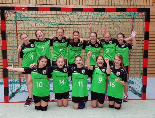 Weibliche D-Jugend startet erfolgreich in die Qualifikationsrunde
